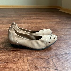 Arche LN safari brown 7am(37) slip on ballet flat